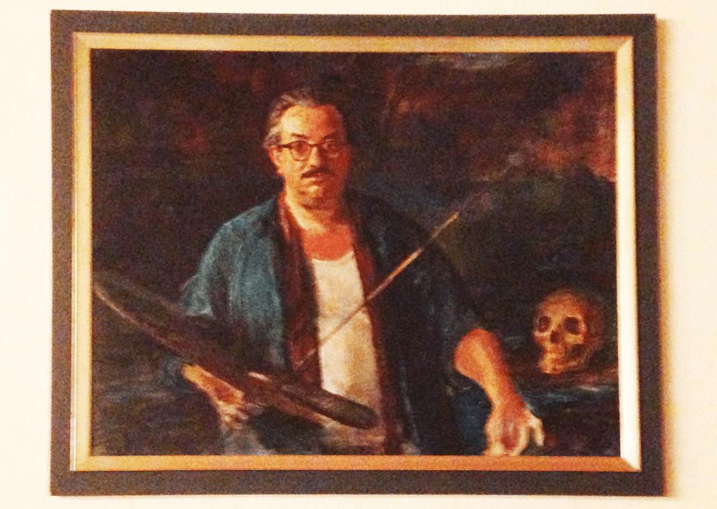 Robert Seuffert Freimaurer Wandgemälde Köln